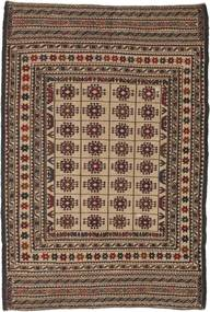 Kilim Golbarjasta Rug 126X190 Authentic  Oriental Handwoven Dark Brown/Light Brown (Wool, Afghanistan)