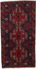 バルーチ 絨毯 109X186 オリエンタル 手織り 深紅色の (ウール, アフガニスタン)