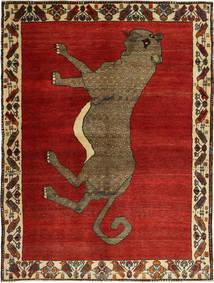Kaszkaj Dywan 160X216 Orientalny Tkany Ręcznie Rdzawy/Czerwony/Ciemnoczerwony (Wełna, Persja/Iran)