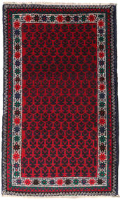 Baluch Rug 88X145 Authentic  Oriental Handknotted (Wool, Afghanistan)