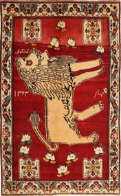 Gashgai Alfombra 145X235 Oriental Hecha A Mano Óxido/Roja/Marrón Claro (Lana, Persia/Irán)