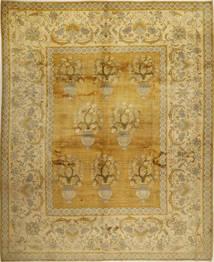 Gabbeh Persia Teppe 326X403 Ekte Moderne Håndknyttet Olivengrønn/Gul Stort (Ull, Persia/Iran)