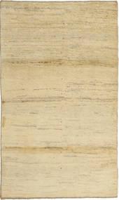 Gabbeh (Persja) Dywan 101X171 Nowoczesny Tkany Ręcznie Żółty/Ciemnobeżowy (Wełna, Persja/Iran)