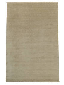 Handloom Fringes - Greige Rug 200X300 Modern Light Grey (Wool, India)