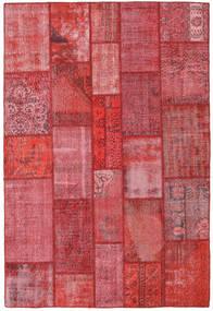 パッチワーク 絨毯 201X300 モダン 手織り 赤/錆色/ピンク (ウール, トルコ)