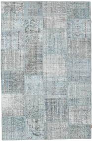 パッチワーク 絨毯 196X303 モダン 手織り 薄い灰色 (ウール, トルコ)