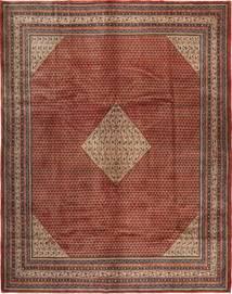 Sarough Mir Alfombra 306X390 Oriental Hecha A Mano Marrón/Rojo Oscuro Grande (Lana, Persia/Irán)