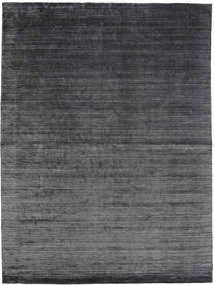 Bamboo Silk Loom - Charcoal Rug 200X300 Modern Dark Grey/Dark Blue ( India)