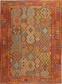 Kilim Afghan Old style carpet XKH30
