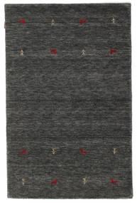 Gabbeh Loom Two Lines - Medium Szürke Szőnyeg 120X180 Modern Sötétszürke/Fekete (Gyapjú, India)