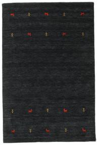 Gabbeh loom Two Lines - Black / Grey rug CVD16763