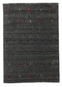 Gabbeh Loom Two Lines - Medium Grey Rug 140X200 Modern Dark Grey (Wool, India)