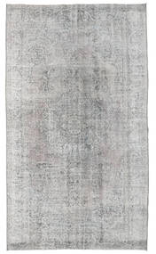 Colored Vintage Rug 154X266 Authentic  Modern Handknotted Light Grey (Wool, Turkey)