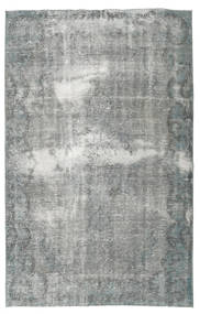 Colored Vintage Rug 170X269 Authentic  Modern Handknotted Dark Grey/Light Green (Wool, Turkey)
