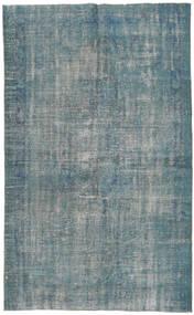 Colored Vintage Dywan 167X276 Nowoczesny Tkany Ręcznie Niebieski/Ciemnoszary (Wełna, Turcja)