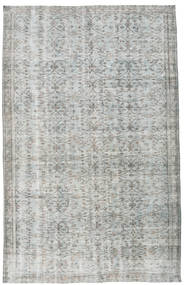 Colored Vintage Rug 181X284 Authentic  Modern Handknotted Light Grey/Turquoise Blue (Wool, Turkey)
