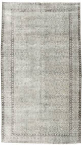 Colored Vintage Rug 154X272 Authentic  Modern Handknotted Light Grey/Dark Beige (Wool, Turkey)