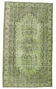 Colored Vintage Alfombra 148X255 Moderna Hecha A Mano Verde Claro/Verde Oscuro (Lana, Turquía)