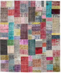 Patchwork Rug 250X302 Authentic  Modern Handknotted Light Purple/Light Grey Large (Wool, Turkey)