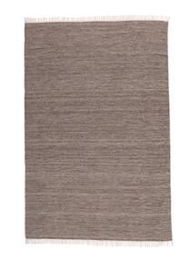 Melerad - Brun Matta 140X200 Äkta Modern Handvävd Ljusgrå/Vit/Cremefärgad (Ull, Indien)
