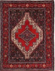 センネ 絨毯 120X160 オリエンタル 手織り 深紅色の/濃い茶色 (ウール, ペルシャ/イラン)