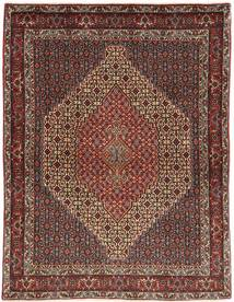 Senneh Rug 123X162 Authentic Oriental Handknotted Dark Red/Brown (Wool, Persia/Iran)