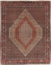 Senneh Koberec 123X161 Orientální Ručně Tkaný Světle Hnědá/Tmavě Hnědá (Vlna, Persie/Írán)