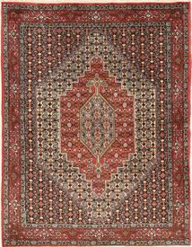 Senneh Matto 120X157 Itämainen Käsinsolmittu Tummanruskea/Ruskea (Villa, Persia/Iran)