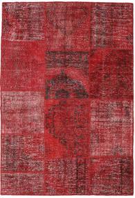 パッチワーク 絨毯 158X230 モダン 手織り 深紅色の/赤 (ウール, トルコ)