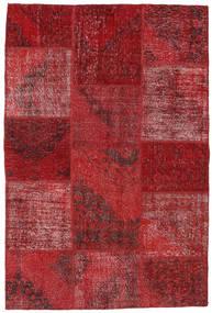 パッチワーク 絨毯 157X234 モダン 手織り 深紅色の/赤 (ウール, トルコ)