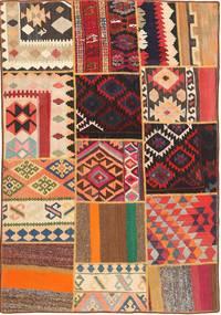Kilim Patchwork carpet FRKC338