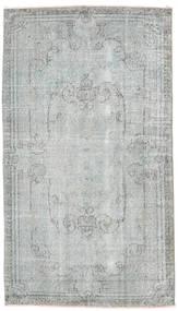 Colored Vintage Teppe 118X207 Ekte Moderne Håndknyttet Lys Grå (Ull, Tyrkia)