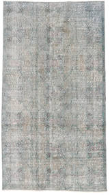 Colored Vintage Rug 112X202 Authentic  Modern Handknotted Light Grey/Beige (Wool, Turkey)