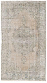 Colored Vintage Rug 117X207 Authentic  Modern Handknotted Light Grey/Light Brown (Wool, Turkey)