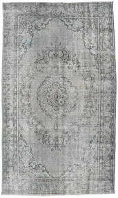 Colored Vintage Tapete 186X310 Moderno Feito A Mão Cinzento Claro (Lã, Turquia)