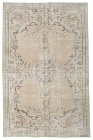 Colored Vintage Rug 192X298 Authentic  Modern Handknotted Light Brown/Light Grey (Wool, Turkey)