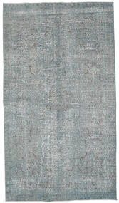 Colored Vintage Teppe 159X283 Ekte Moderne Håndknyttet Lys Grå/Lys Blå/Mørk Grå (Ull, Tyrkia)