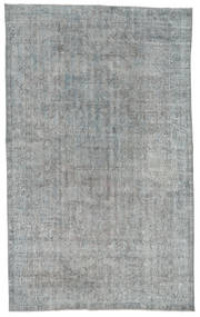 Colored Vintage Rug 181X297 Authentic  Modern Handknotted Light Grey/Turquoise Blue (Wool, Turkey)
