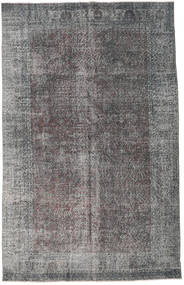Colored Vintage Rug 188X295 Authentic  Modern Handknotted Dark Grey/Light Grey (Wool, Turkey)