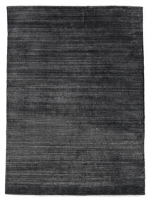 Bamboo Silk Loom - Charcoal Rug 160X230 Modern Dark Grey/Dark Blue (Wool/Bamboo Silk, India)