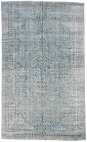 Colored Vintage Rug 185X306 Authentic  Modern Handknotted Light Grey/Dark Grey (Wool, Turkey)