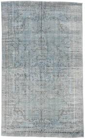 Colored Vintage Rug 185X306 Authentic Modern Handknotted Light Grey/Dark Grey (Wool, Turkey)