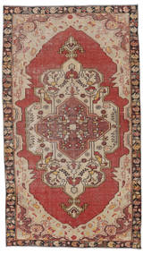 Colored Vintage Rug 135X236 Authentic  Modern Handknotted Light Brown/Brown (Wool, Turkey)