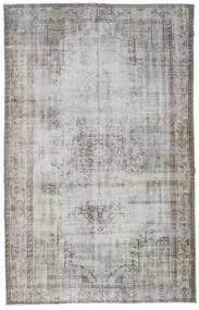 Colored Vintage Rug 187X291 Authentic  Modern Handknotted Light Grey/Beige (Wool, Turkey)