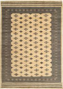 Pakistan Bokhara 3Ply Rug 200X274 Authentic Oriental Handknotted Light Brown/Dark Beige (Wool/Silk, Pakistan)