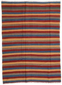 Kilim Rug 164X225 Authentic  Oriental Handwoven Dark Red/Blue (Wool, Persia/Iran)