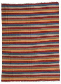 Kilim Rug 170X231 Authentic  Oriental Handwoven Dark Red/Light Brown/Brown (Wool, Persia/Iran)