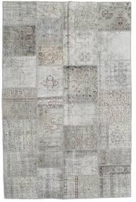 パッチワーク 絨毯 196X298 モダン 手織り 薄い灰色/ベージュ (ウール, トルコ)