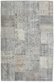パッチワーク 絨毯 197X301 モダン 手織り 薄い灰色 (ウール, トルコ)