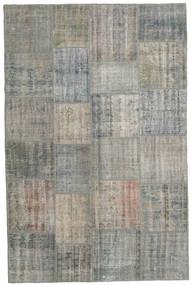 Patchwork Rug 200X303 Authentic  Modern Handknotted Dark Grey/Light Grey (Wool, Turkey)